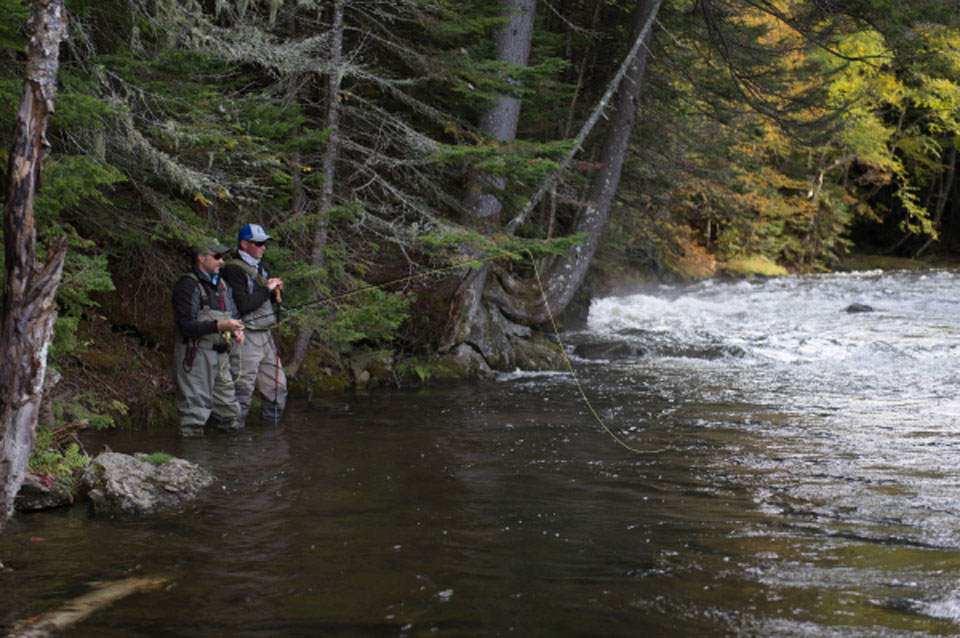 New England Orvis endorsed fly fishing guide