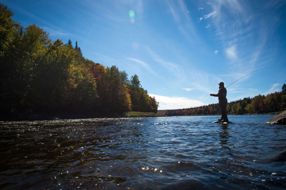 Fall fly fishing in New England